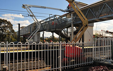 Spider Lift project Yeerongpilly Railway Station