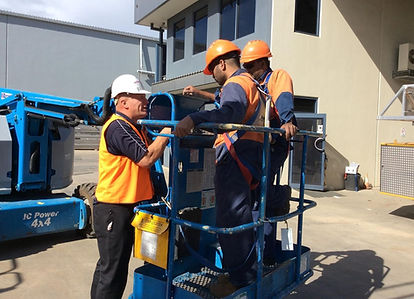 Training on Boom Lift