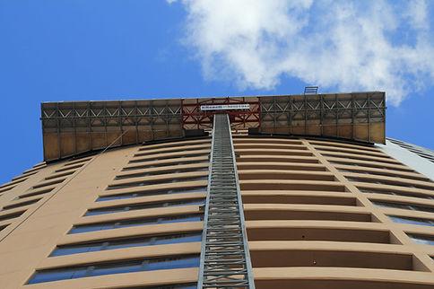 Mast Climber with Single Mast