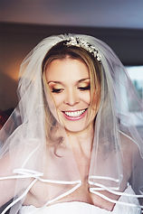 bride makeup and hair