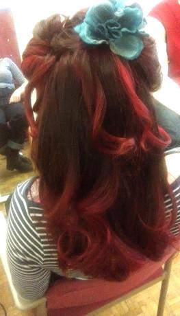 Vintage hair waves