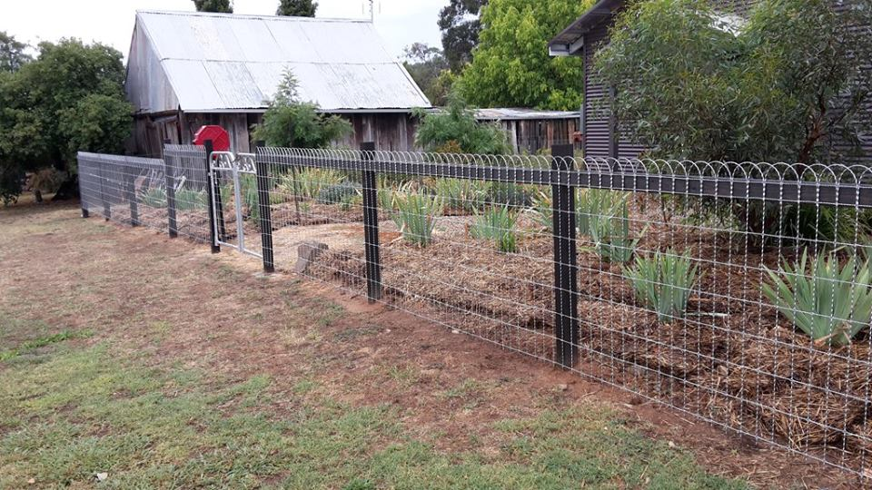 Heritage wire fencing 1250mm high galvinised heritage wire