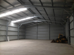 Internal Industrial Shed