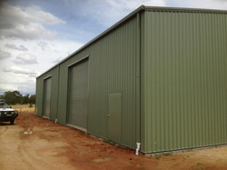 External Industrial shed