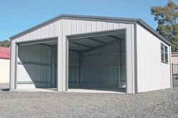 Double Roller Door Garage