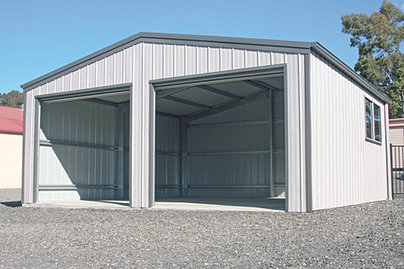 Sheds, garages, carports and fencing for sale at MA STEEL ...