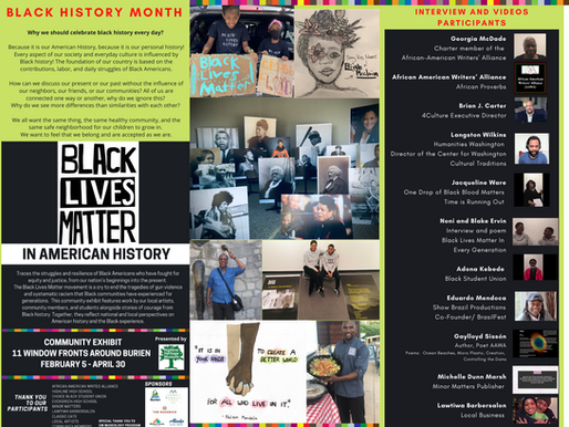 FEBRUARY-MARCH 2021 - HIGHLINE HERITAGE MUSEUM - BLM Exhibit