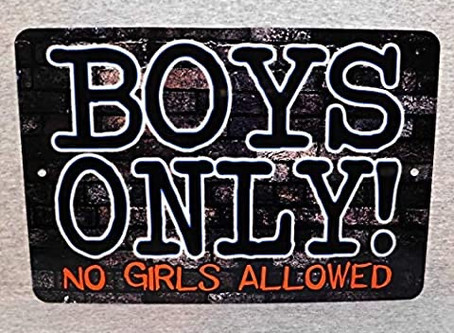 Boys Only!