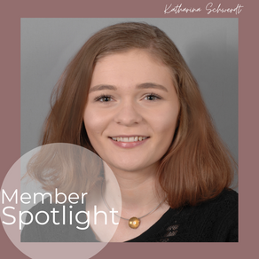 Member Spotlight: Katharina Schwerdt