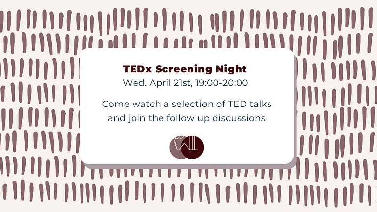 TEDx Screening Night: Bravery, Taking Risks, and Seizing Opportunities