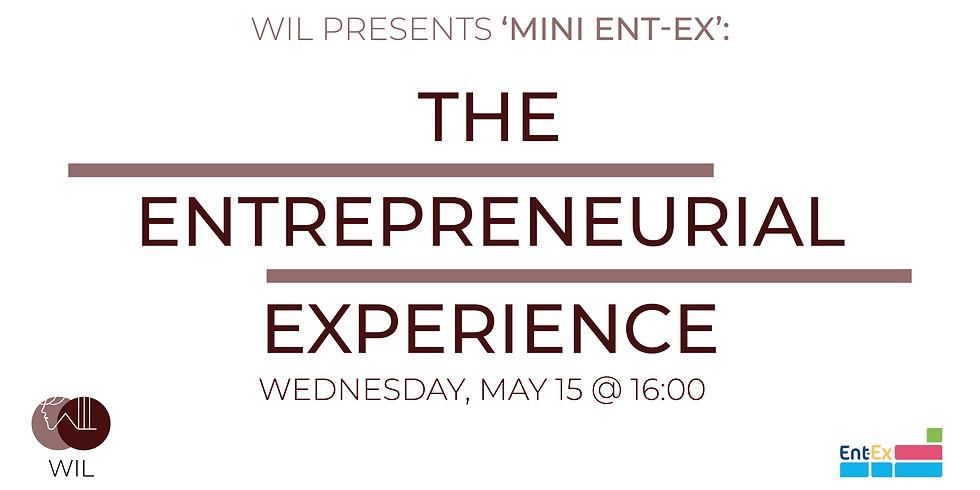 Workshop: Mini Ent-Ex - the Entrepreneurial Experience