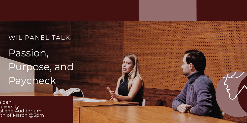 WIL Talk: Passion, Purpose & Paychecks