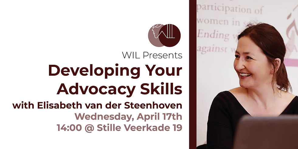 Workshop: Developing your Advocacy Skills