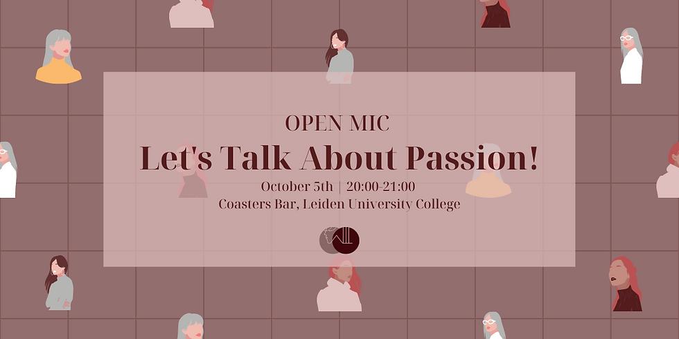 WIL Talk: Passion