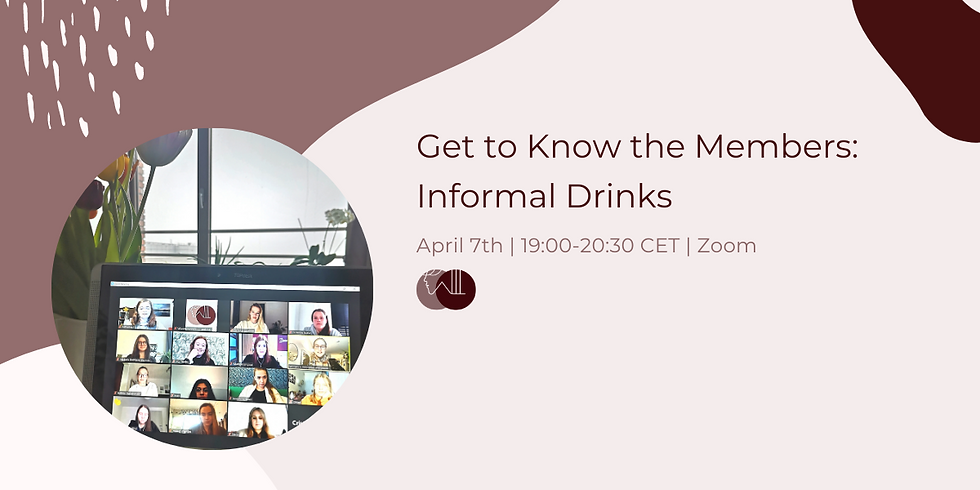 Get to Know the Members: Informal Drinks