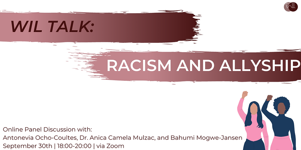 WIL Talk: Racism and Allyship