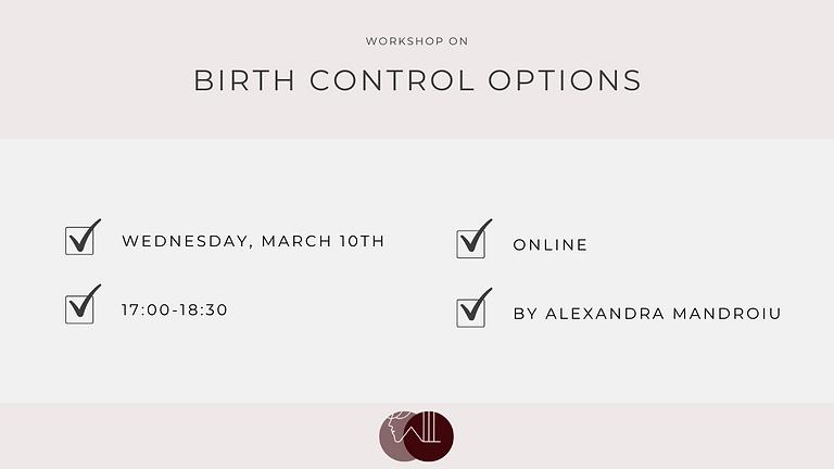 Birth Control Options