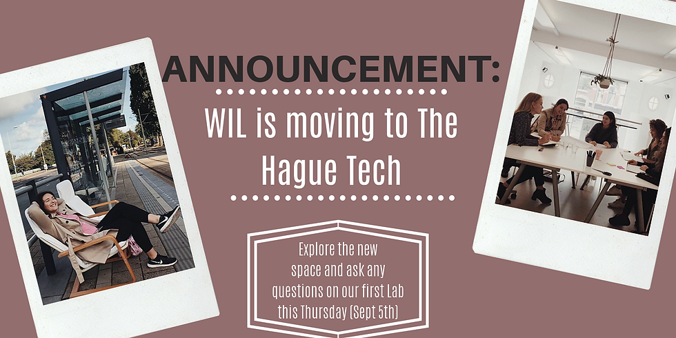 The Hague Tech Pitch Event + Women in Innovation Lab Opening