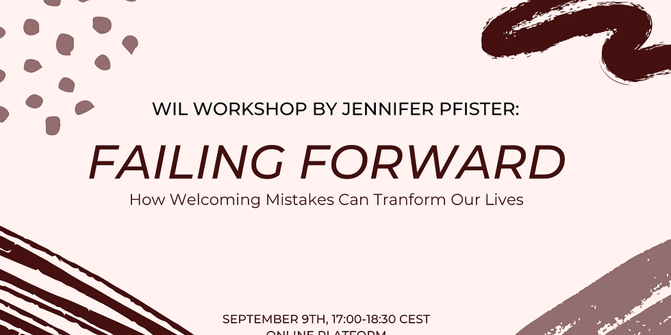 Falling Forward - How Welcoming Mistakes Can Transform Our Lives