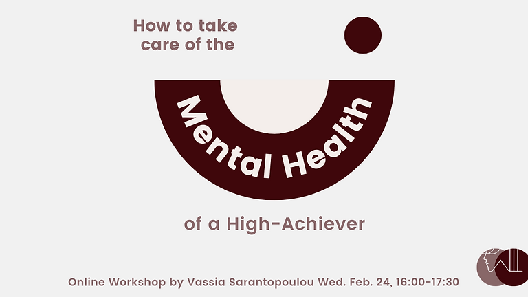 How to take care of the Mental Health of a High-Achiever