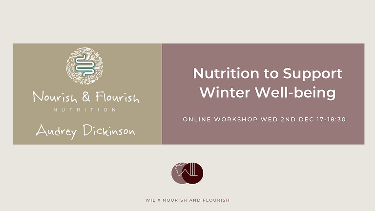 Nutrition to Support Winter Wellbeing