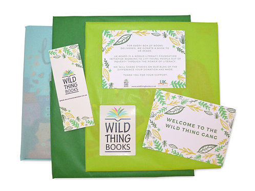 Book box for mixed ages