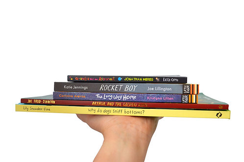 Book box for 6-8 years