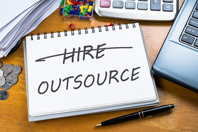 Outsource memo in notebook with part of
