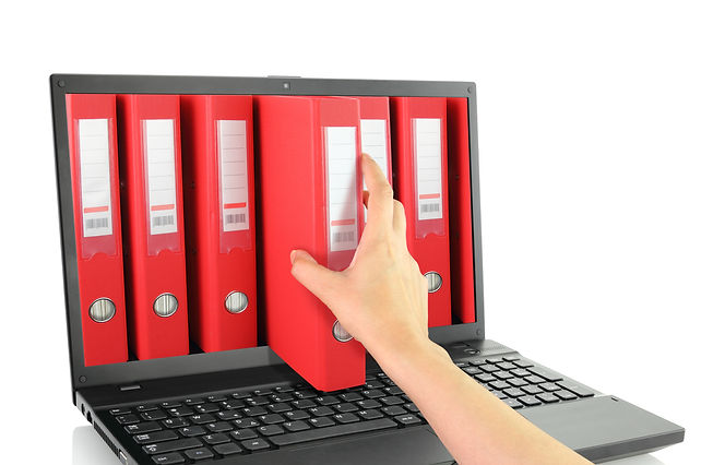 Laptop online with red ring binders.jpg