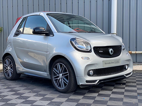 SMART FORTWO CABRIO LIMITED EDITION BRABUS CUIR ROUGE  07/2017