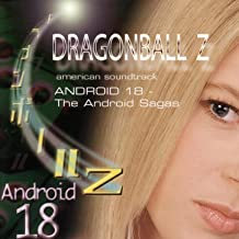 Dragonball Z Android 18 American Soundtrack autographed by Bruce Faulconer