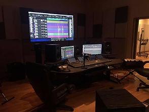 CakeMix Recording Studio Control Room