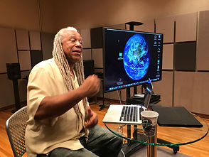 Dave Fennoy at CakeMix Recording Studio