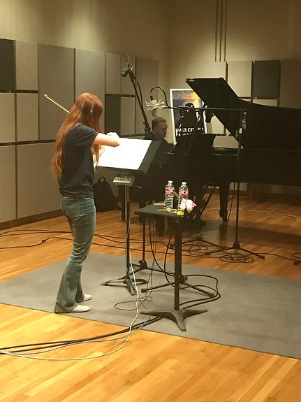 Violin and Steinway Grand Piano recordin