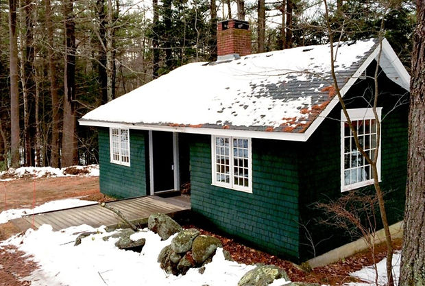 MacDowell Colony Barnard Cabin Winter.jp