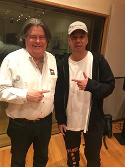 Illmine and Bruce Faulconer at cakeMix Recording Studio
