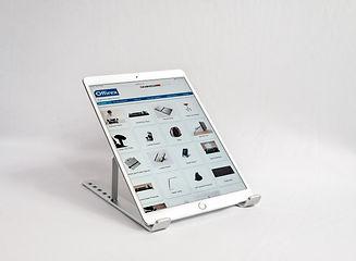 Ergonomic tablet stand