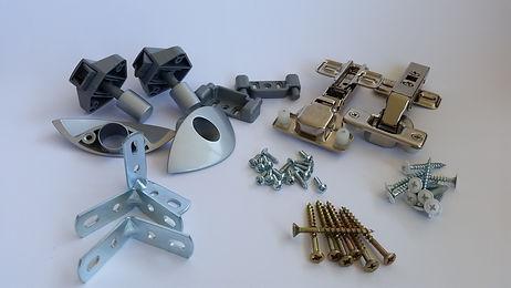 Coaster cabinet hardware