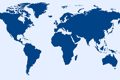 Offirex world map