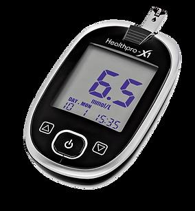 Healthpro-X1 – Blutzuckermessgerät