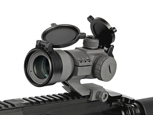 G&G Tactical Red/Green/Blue Dot with Cantilever Weaver Mount (Color: Gray)