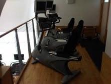 upstairs bikes