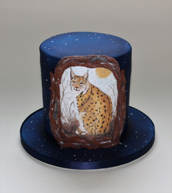 Lynx birthday cake  (2)
