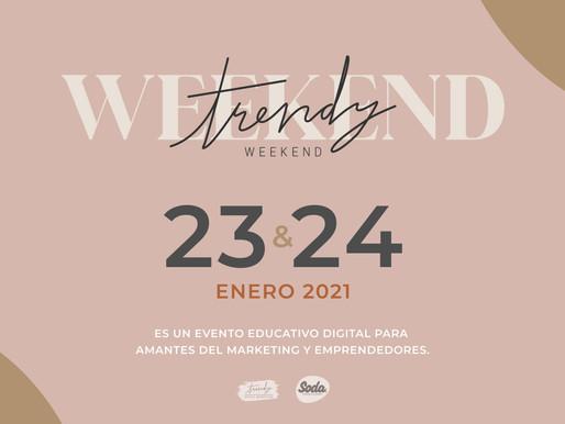 Digital Events IN 2021 - trendy weekend