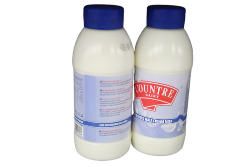 Sterilized Half Cream Milk