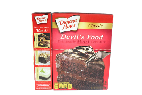 Classic Devil Food Deliciously Moist Cake Mix