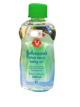 Johnson's aloe vera bady oil