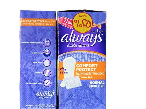 Always Comfort Protection