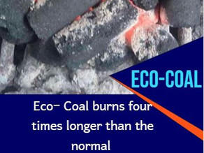 PRODUCTS REVIEW: ECO-COAL ; WHY IS IT GOOD FOR YOUR HOME)
