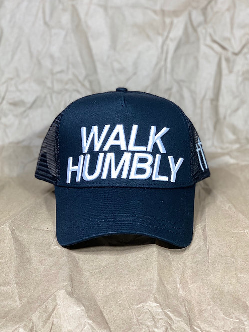 WALK HUMBLY TRUCKER HAT